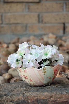 Shabby Chic Bowl