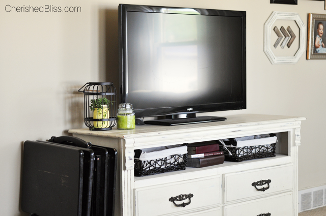 How To Turn A Dresser Into A Tv Stand Cherished Bliss