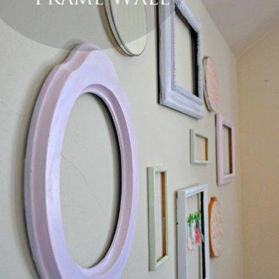 Shabby Chic Frame Wall