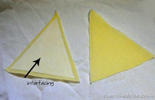 Fabric Crown Step 1