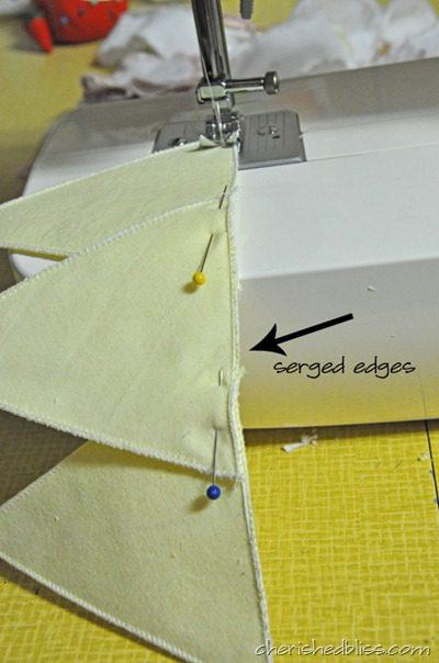 Fabric Crown Step 2