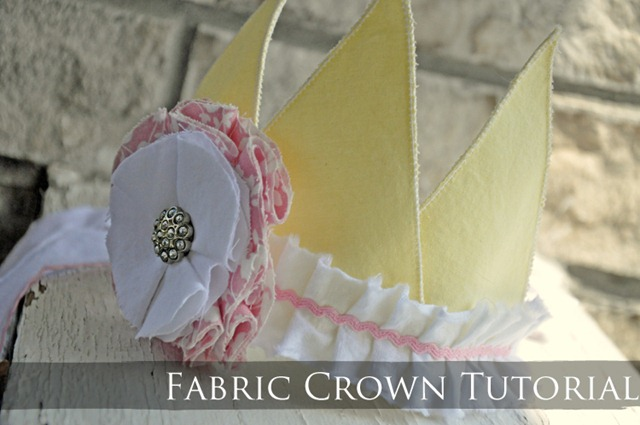 Fabric Crown Tutorial