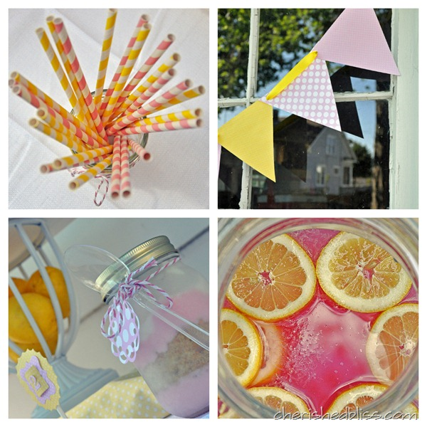 Pink Lemonad Party Decor