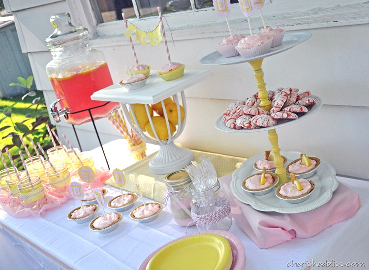 A Pink Lemonade Party Cherished Bliss