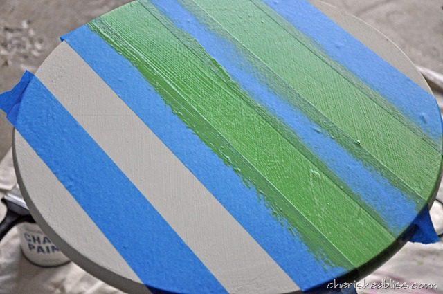 tape off stripes