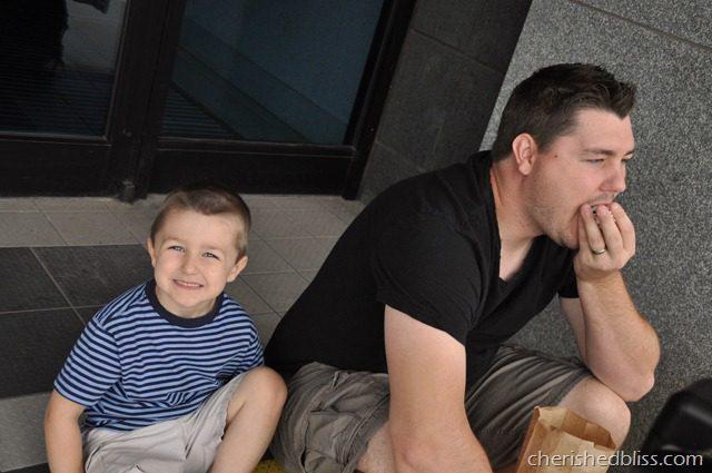 Aubrey and Daddy