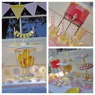 Cherished Bliss Pink Lemonade Party