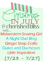 Christmas in July Button