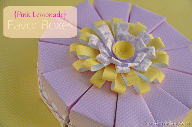 Pink Lemonade Boxes