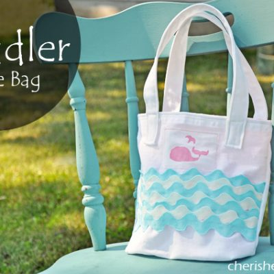 Toddler Tote Tutorial {Lifestyle Crafts}