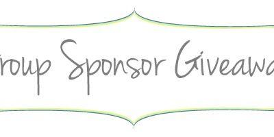 Group Sponsor Giveaway