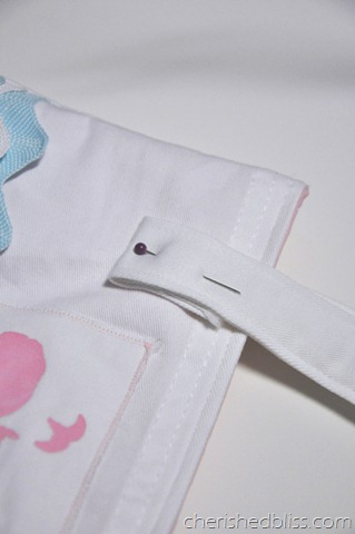 pin straps down