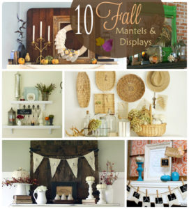 10 Fall Mantels and Displays