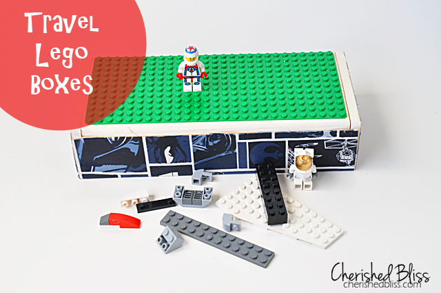 cherishedbliss.com - Travel Lego Box #lego #storage