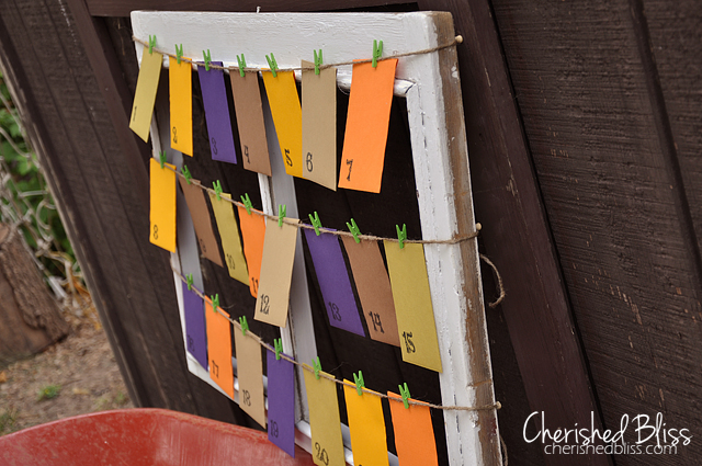 Cherishedbliss.com // DIY Thankful Board #fall #thanksgiving #tutorial