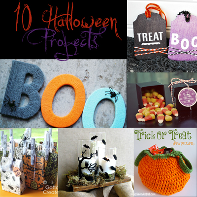 10 Halloween Projects