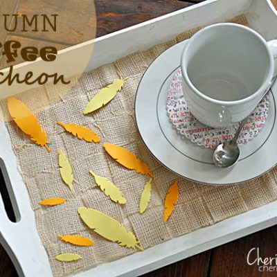 Autumn Coffee Luncheon