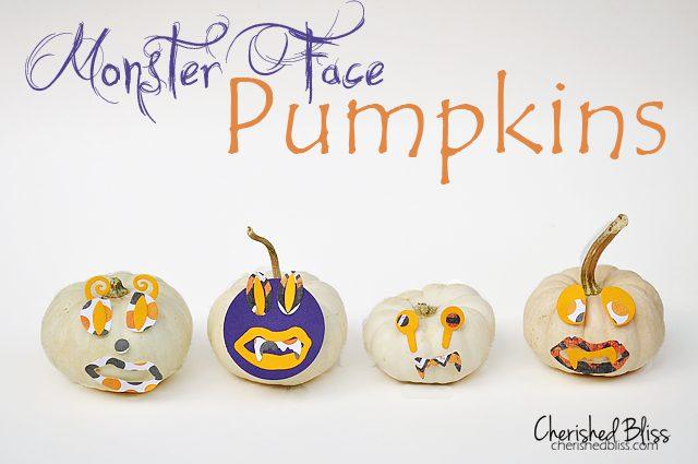 Cherished Bliss: Mini Monster umpkins #halloween @lifestylecrafts