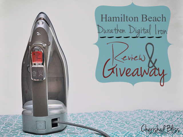 Durathon™ Digital Iron Review and Giveaway