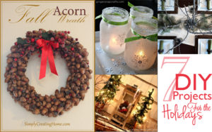 7 DIY Projects for the Holidays via Cherishedbliss.com