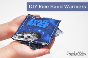 DIY rice hand warmers