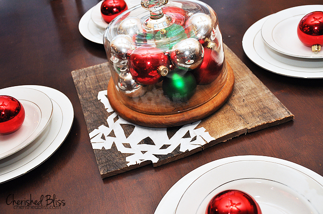 DIY Pallet Wood Chargers via Cherishedbliss.com #MerryModPodge #Christmas #pallet