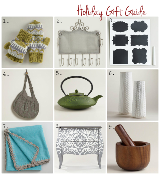World Market Holiday Gift Guide // via cherishedbliss.com @WorldMarket