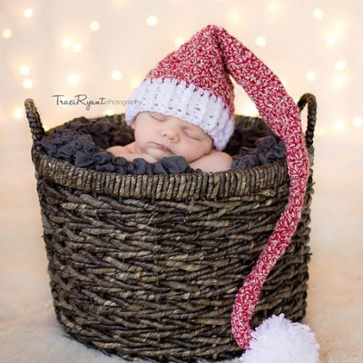 Stocking Hat Crochet Pattern {free}
