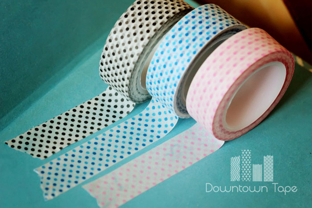 Downtown Tape Giveaway - 10 rolls + 25 tags via cherishedbliss.com