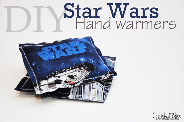DIY Star Wars Rice Hand Warmers viaDIY Star Wars Rice Hand Warmers Tutorial via cherishedbliss.com cherishedbliss.com