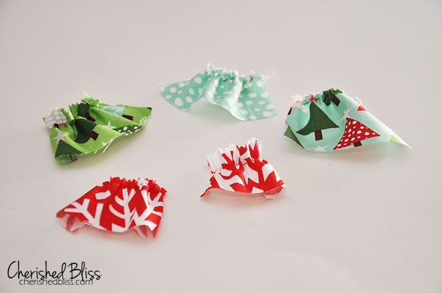 Two Turtle Doves - part of the 12 Days of Christmas via Cherishedbliss.com #christmas #12daysofchristmas #craft