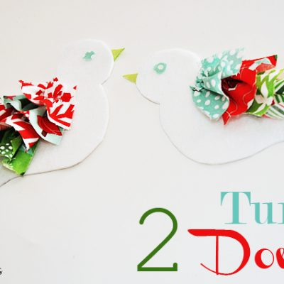 Two Turtle Doves {12 Days of Christmas Series}