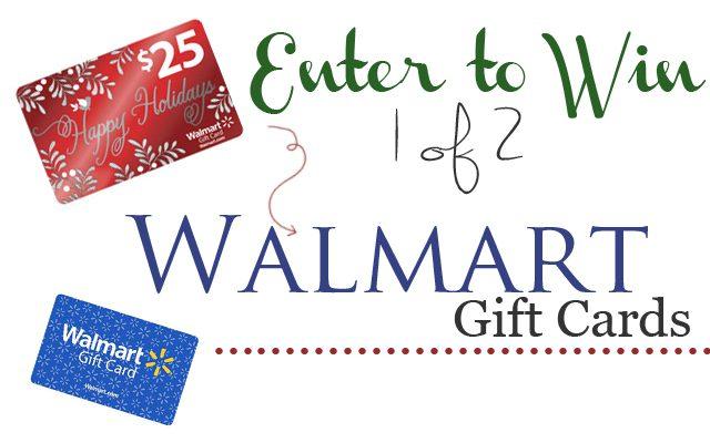 Walmart Gift Card Giveaway via cherishedbliss.com