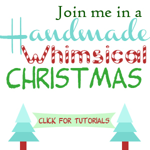 Handmade Whimsical Christmas Tutorials via Cherishedbliss.com