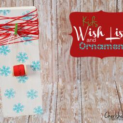 wish list ornament