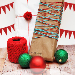 Gift Wrapping Ideas {It's all in the wrapping}