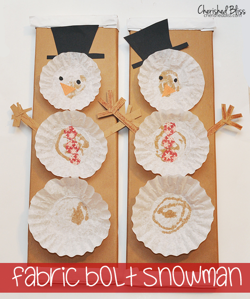 crafts with coffee filters coffee filter snowman tutorial cherished bliss 4155
