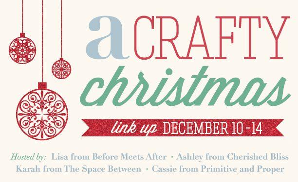 A Crafty Christmas Link Part at Cherishedbliss.com