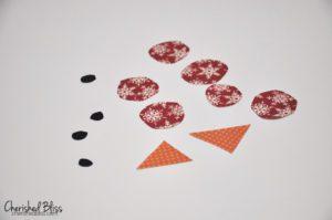 cut paper pieces
