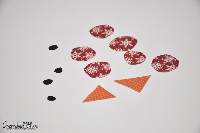 DIY Coffee Filter Snowman - A fun Craft for kids via cherishedblsis.com