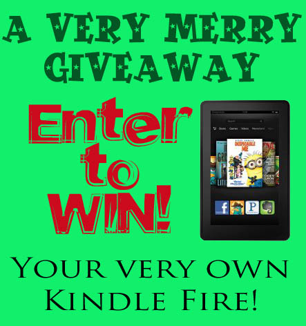 Enter to win your very own Kindle Fire via cherishedbliss.com #giveaway