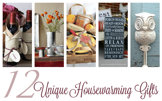 12 Unique Housewarming gifts at cherishedbliss.com