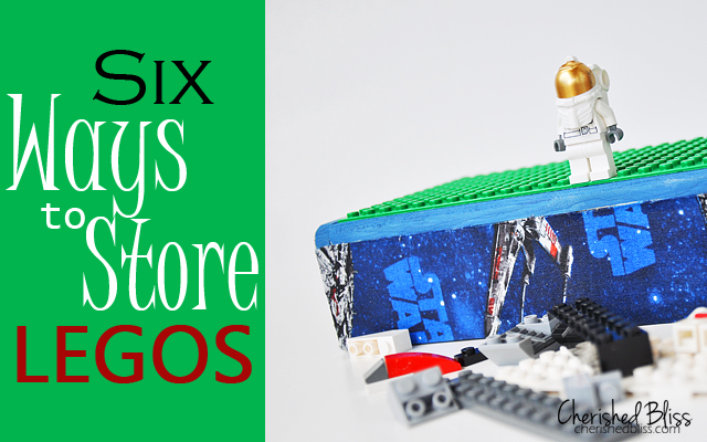 6 Lego Storage Ideas via Cherishedbliss.com