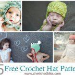 15 Free Crochet Hat Patterns