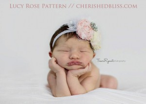 Lucy Rose Headband Pattern
