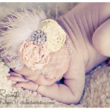Vintage Inspired Baby Headband Tutorial