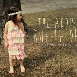 The Addison Ruffle Dress