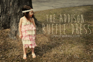 The Addison Ruffle Dress