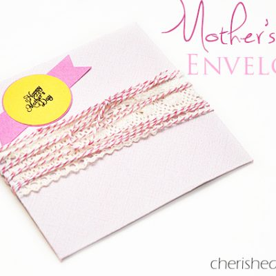 Mother's Day Envelope – Giving Gift Cards
