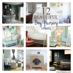 12 Beautiful Boy Nursery Ideas
